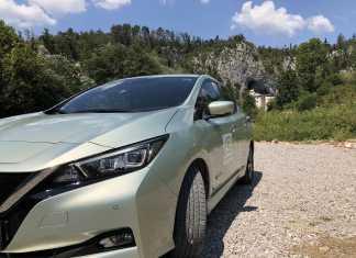 Nissan LEAF túra folytatása Szlovéniában