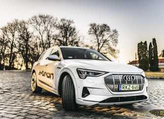 Audi e-tron menetpróba és villámteszt